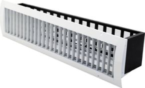 SKI/S - Supply Grille for round ducts with rounded rims & extractor